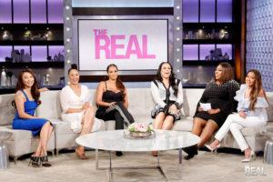 The REAL photo 2 Jeannie Mai Tamera Mowry Evelyn Lozada Shaunie ONeal Loni Love Adrienne Bailon  300x200 - The REAL Talk Show