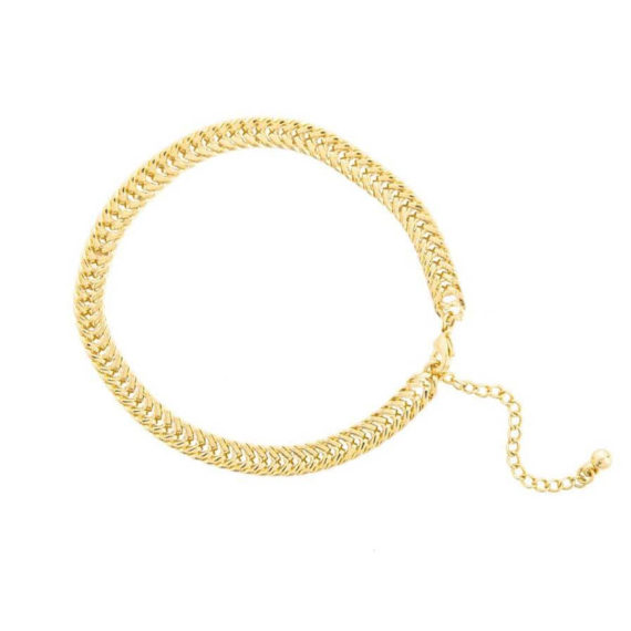 3M9A7688 570x570 - Gold Tight Link Anklet